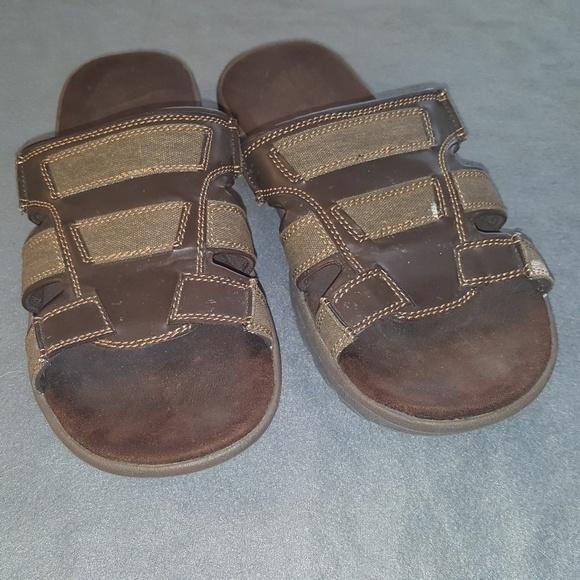 Ozark Trail Mens Sandals Memory Foam Sz
